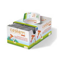 Cestem Large Dog Flavoured Worming Tablet packaging