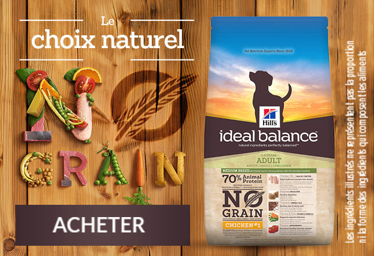 Acheter Hill's Ideal Balance - le choix naturel no grain