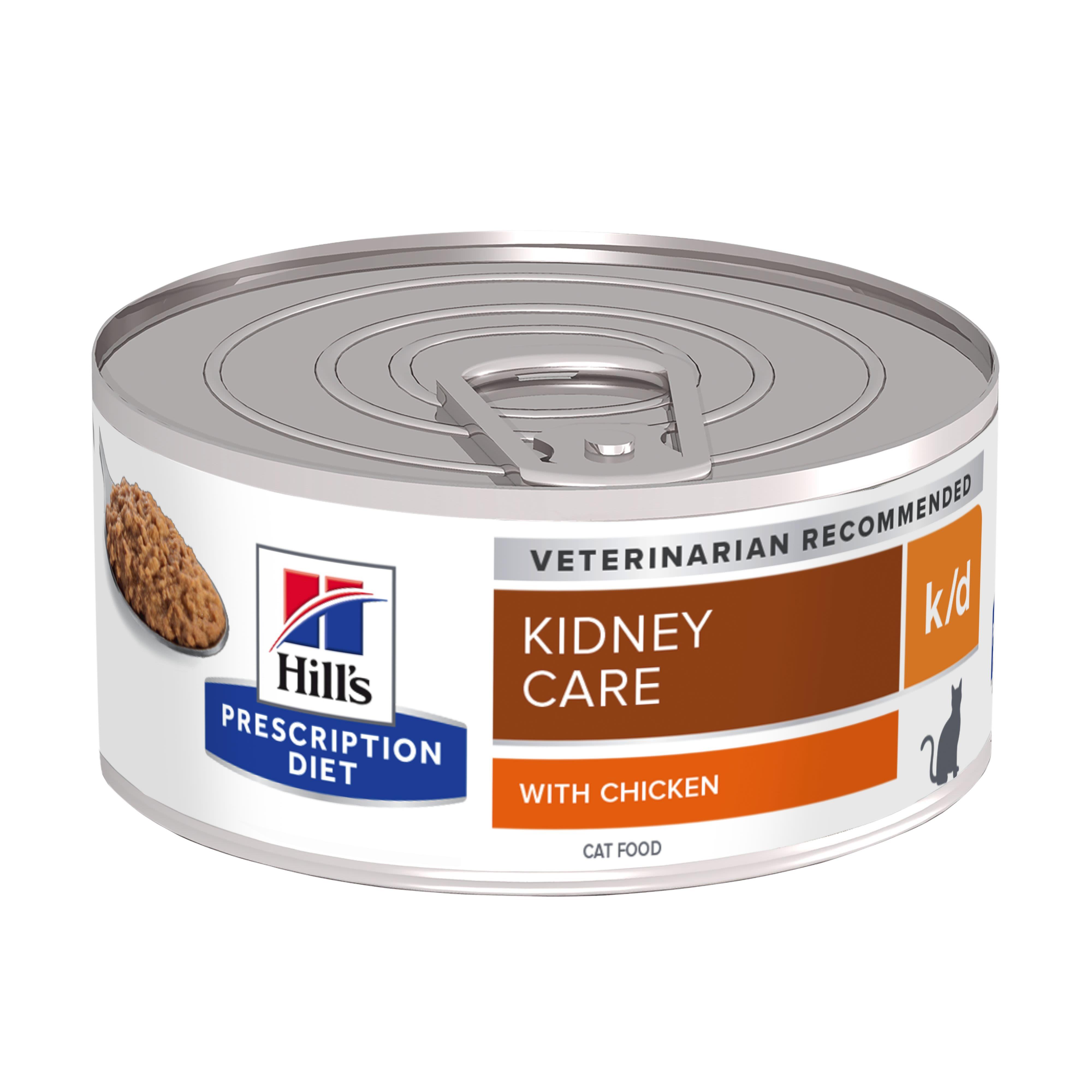Hills prescription feline k/d