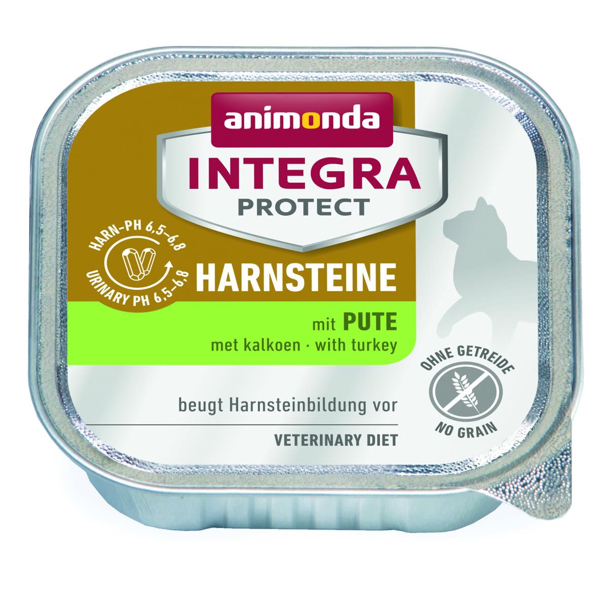 Animonda Integra Harnsteine Katze mit Pute