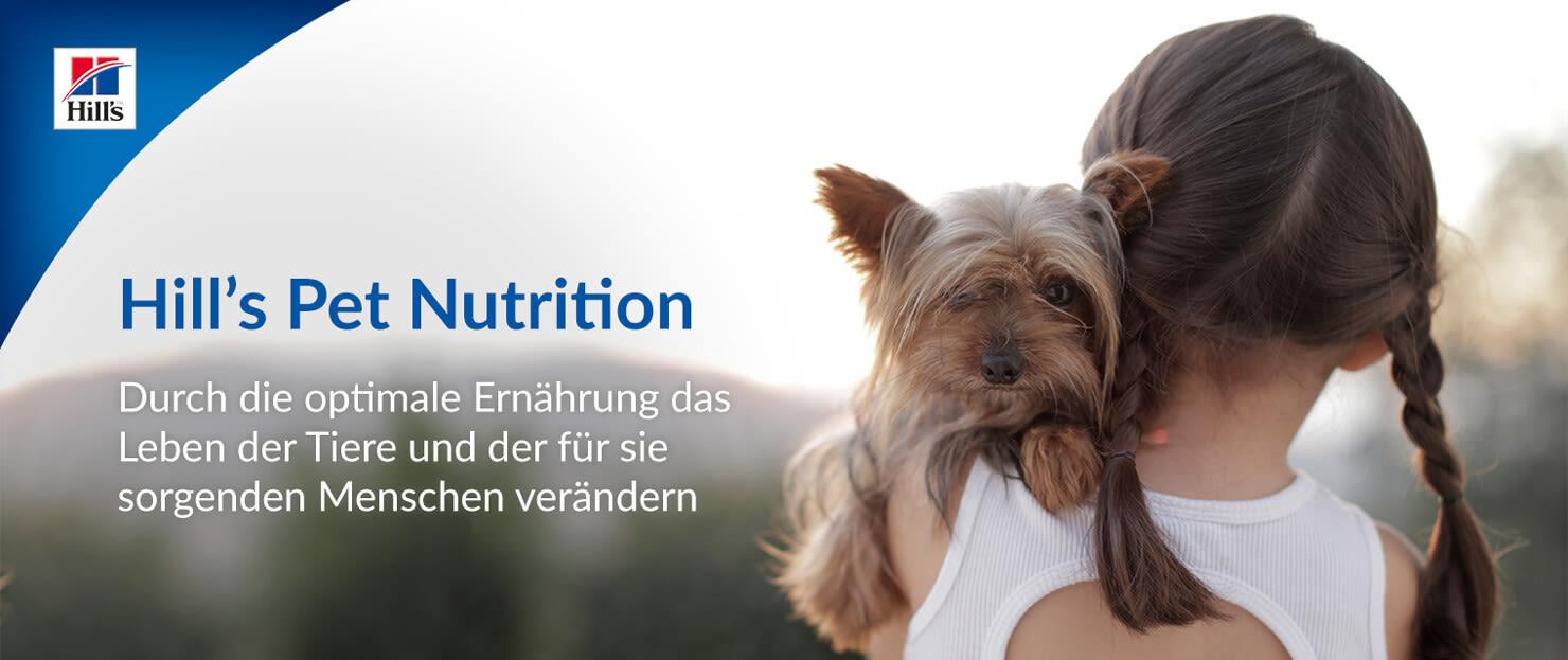 Hill's Pet Nutrition - Durch die optimale Ernährung das Leben der Tiere und der für sie sorgenden Menschen verändern