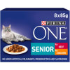 Purina ONE Senior 7+ Mini Fillets in Gravy - Chicken and Beef