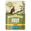 James Wellbeloved Grain Free Kitten Lamb Pouch