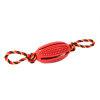 Kokoba Hondenkauwspeelgoed - Rubber Bal met touw