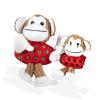 Kokoba Plüschspielzeug für Hunde Funky Monkey