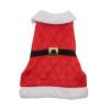 Weihnachtsmann-Mantel für Hunde