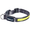 Petface Flashing Yellow Dog Collar