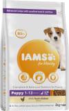 IAMSforVitality Welpenfutter mit Hühnchen für kleine/mittelgroße Rassen