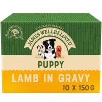 James Wellbeloved Puppy & Junior Pouches Turkey & Rice