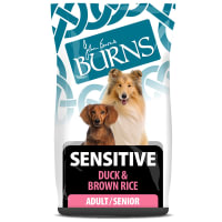 Burns Adulte Sensitive - Canard & Riz Brun