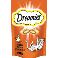 Dreamies Adult & Kitten Cat Treats - Chicken
