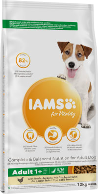 IAMS Chien Adult Petite & Moyenne Race