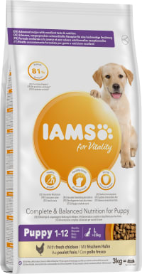 IAMS for Vitality Large Breed Puppy Food