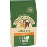 James Wellbeloved Grain Free Adult Dry Cat Food - Turkey