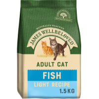 James Wellbeloved Complete Adult Dry Cat Food - Light Fish