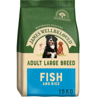 James Wellbeloved Dog Adult Large Breed Fish & Rice
