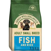 James Wellbeloved Dog Adult Small Breed Fish & Rice