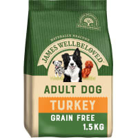 James Wellbeloved Grain Free Adult Dry Dog Food - Turkey & Vegetable