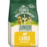 James Wellbeloved Dog Junior Lamb & Rice