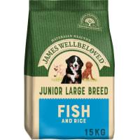 James Wellbeloved Dog Junior Large Breed Fish & Rice