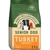 James Wellbeloved – Senior Hundefutter (Truthahn & Reis)