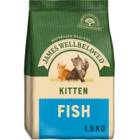 James Wellbeloved – Kitten für junge Katzen (Fisch & Reis)