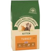James Wellbeloved – Kitten für junge Katzen (Truthahn & Reis)