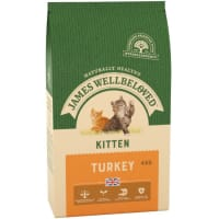 James Wellbeloved Complete Kitten Dry Cat Food - Turkey