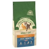 James Wellbeloved Complete Adult Oral Health Dry Cat Food - Turkey