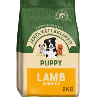 James Wellbeloved Medium Puppy Dry Dog Food - Lamb & Rice