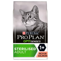 Purina Pro Plan Sterilised Optirenal Adult Dry Cat Food - Salmon & Rice