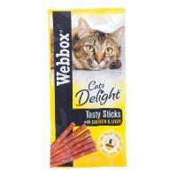 Webbox Cat Delight Sticks 6 Pack