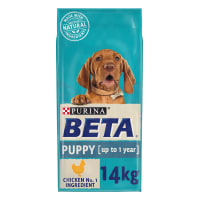 BETA Puppy Dry Dog Food with Chicken & Rice 14kg
