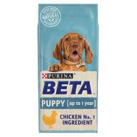 Purina BETA Puppy Kip en Rijst 14kg
