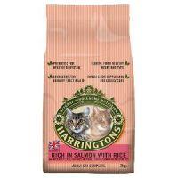 Harringtons Complete Adult Dry Cat Food - Salmon & Rice