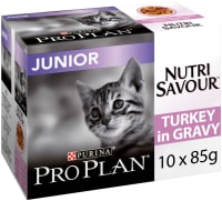 Purina Pro Plan NutriSavour Junior Adult Wet Cat Food - Turkey