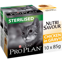 Purina Pro Plan NutriSavour Sterilised Adult Wet Cat Food - Chicken in Gravy