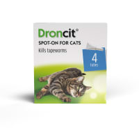 Droncit Spot On Cat Deworming Liquid