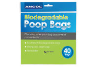 Ancol Bio Degradable Dog Waste Bags