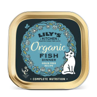 Lily's Kitchen Organic Fish Dinner for Cats