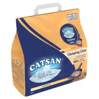 Litière pour chats CATSAN Agglomérante Plus - 5L