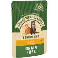 James Wellbeloved Senior Cat Lamb Pouch