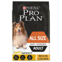 Purina Pro Plan Adult Dog Light or Sterilised  Chicken
