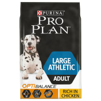 Purina Pro Plan Opti Balance Large Athletic Adult Dry Dog Food - Chicken