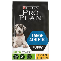 Purina Pro Plan Opti Start Large Athletic Puppy Dry Dog Food - Chicken