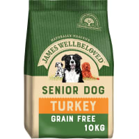 James Wellbeloved Grain Free Medium Senior Dry Dog Food - Turkey & Vegetables