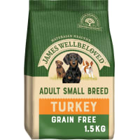 James Wellbeloved Adult Small Breed Grain Free Turkey & Vegetable