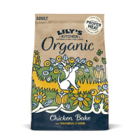Lily's Kitchen Adult Organic Chicken Bake with Vegetable & Herbs Grain Free Dry Food for Dogs