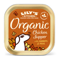 Lily's Kitchen Organic Supper Wet Dog Food - Chicken