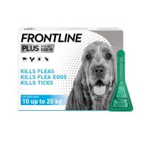 Frontline Plus Medium Dog (10-20kg) Pipettes
